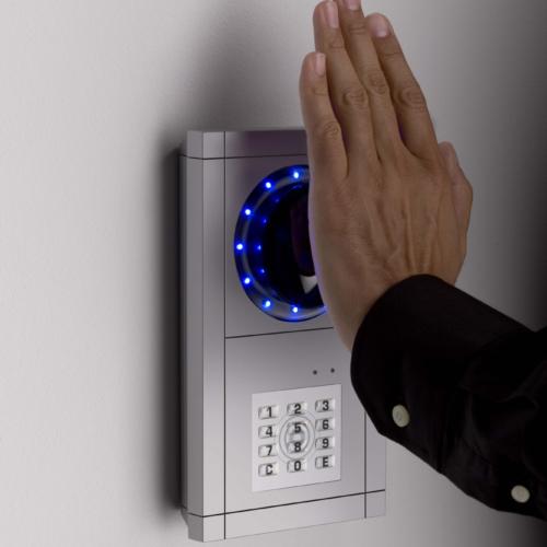 Handvenenerkennung für die Zutrittskontrolle