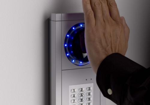 Zeiterfassung mittels Handvenenerkennung