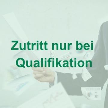 Zutrittskontrolle mit Prüfung auf Qualifikation und Belehrung der Personen