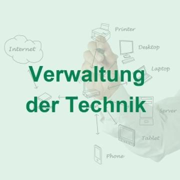Verwaltung der Technik der Zutrittskontrolle